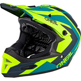 O'Neal Fury RL Helm neon yellow
